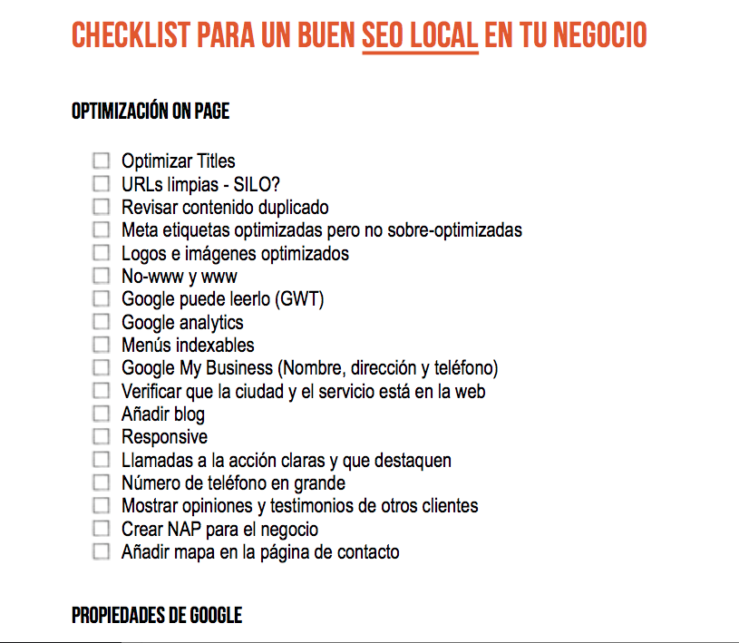 checklist-seo-local