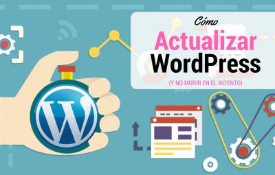 Guía básica de cómo actualizar wordpress manualmente y automáticamente