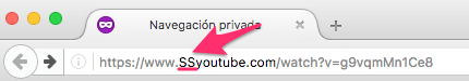 URL para descargar video de youtube rapidamente