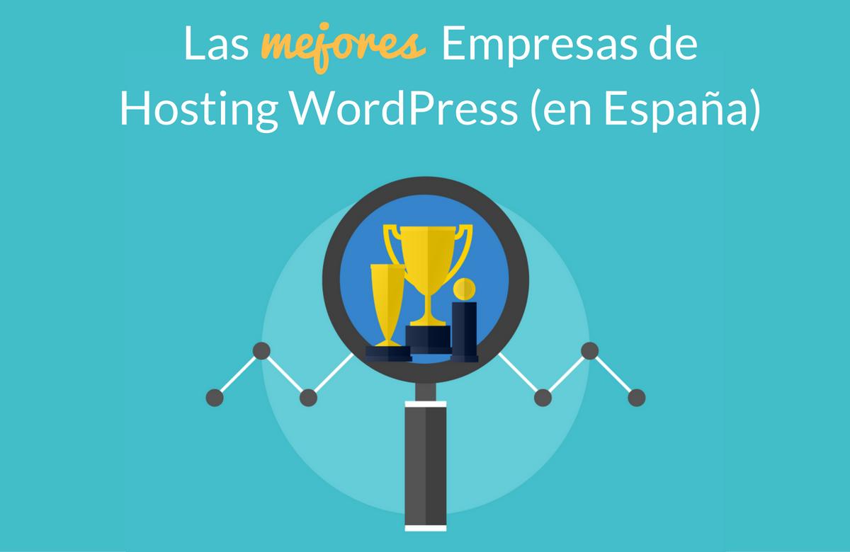 Comparativa de las mejores empresas de hosting WordPress en España